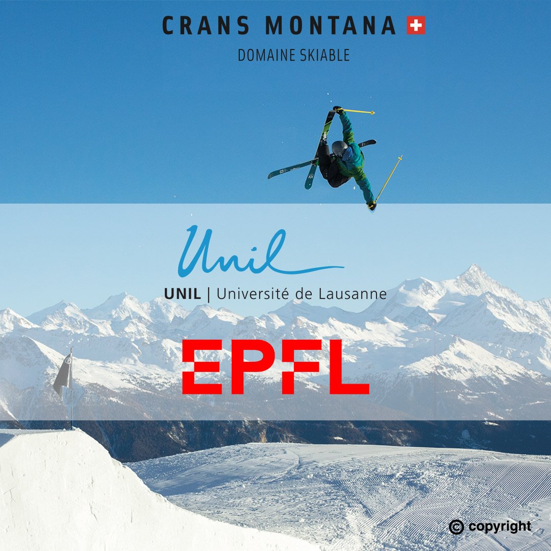 Skier à Crans-Montana